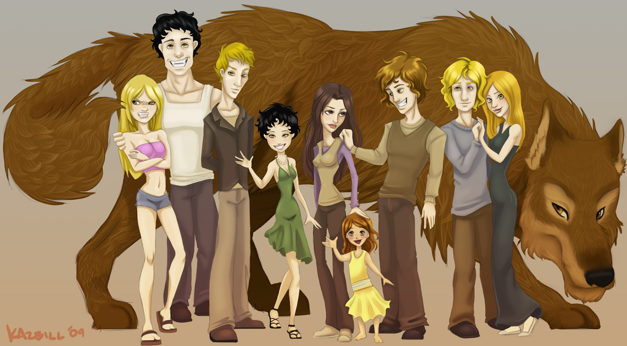 Dessins trouvés sur Internet - Page 3 The_cullen_family_by_nehvah