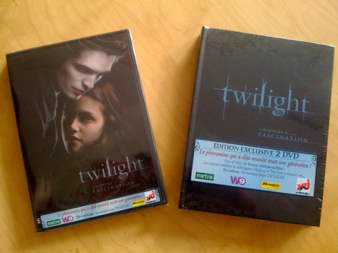 DVD Twilight France