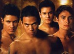 Paul, Sam, Jared et Embry