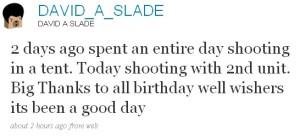 Twitter David Slade