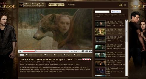 New Moon Yotube