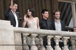 Chris, Kristen, Taylor et Rob à Paris 13